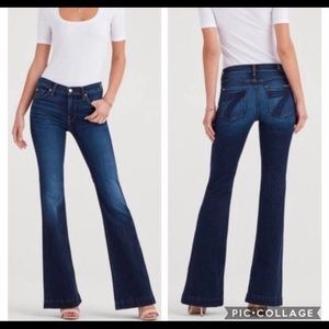 7 For All Mankind Dojo Flare Jeans